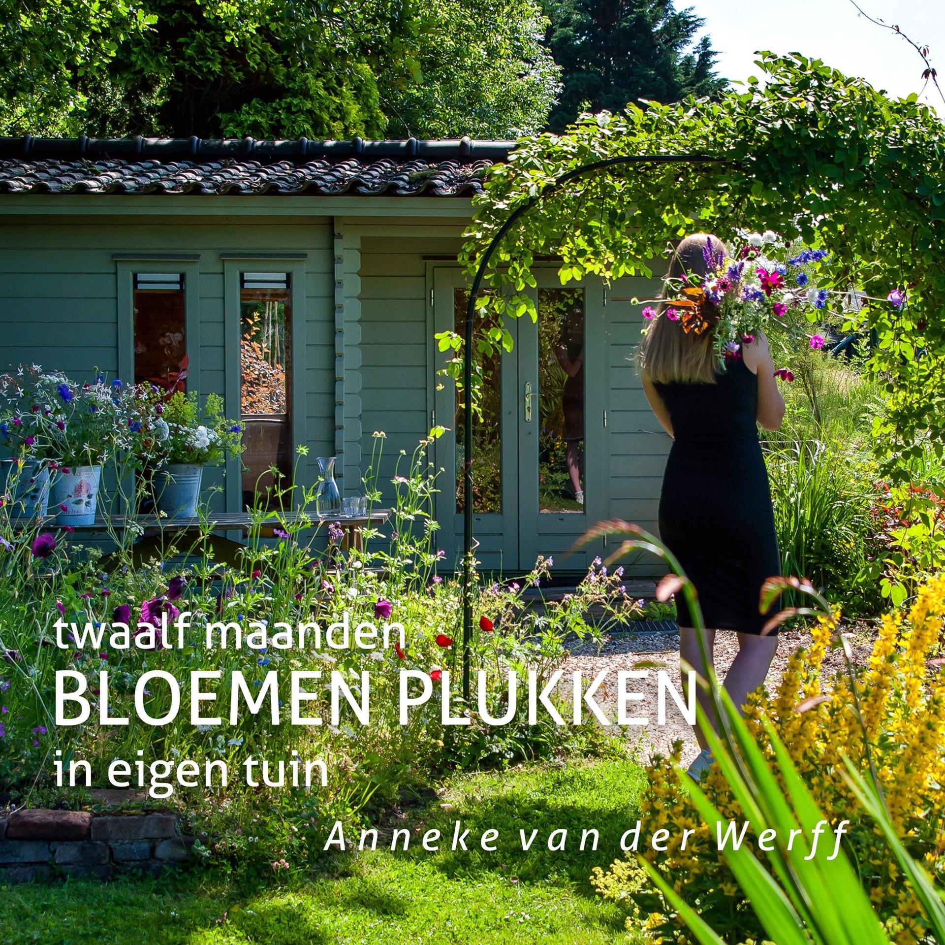 Cover Boek Anneke van der Werff - twaalf maanden BLOEMEN PLUKKEN in eigen tuin.jpeg
